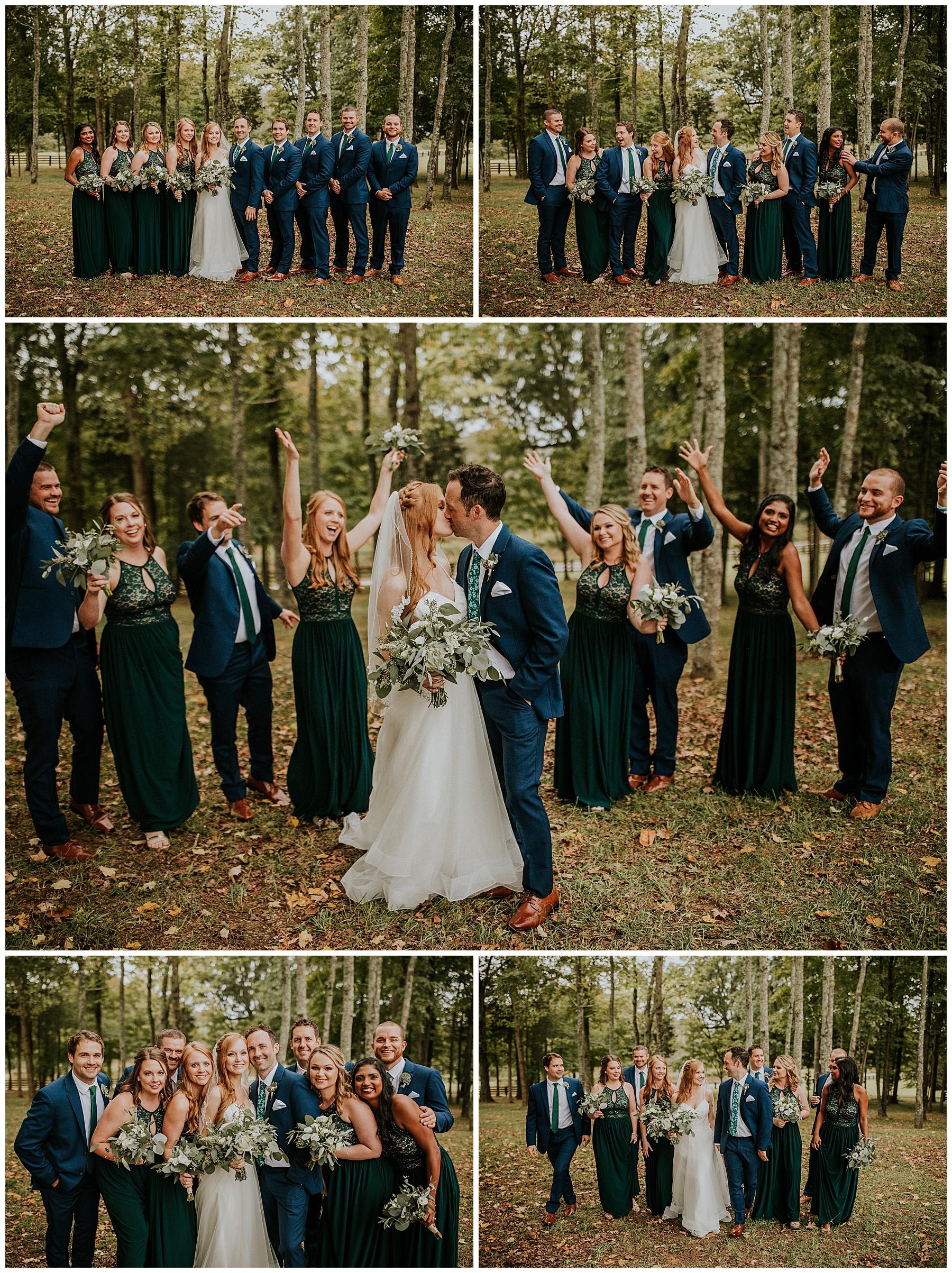 Kings Chapel Wedding Wedding Party