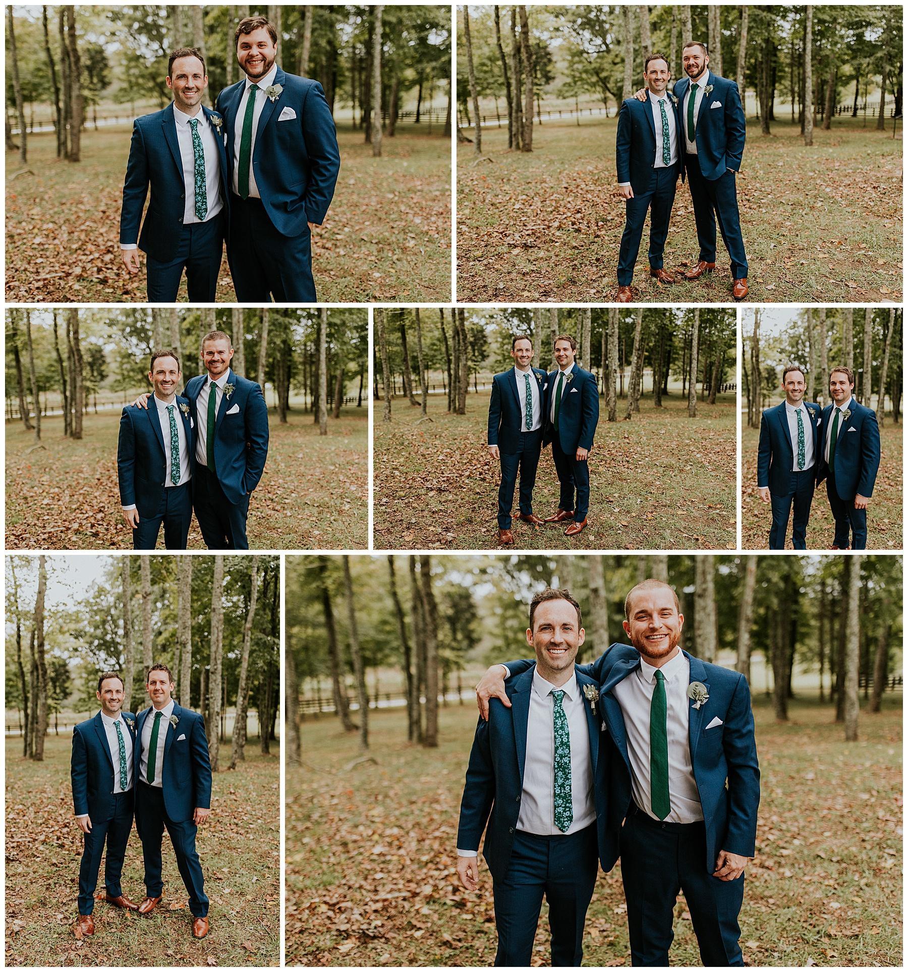 Kings Chapel Wedding Groomsmen
