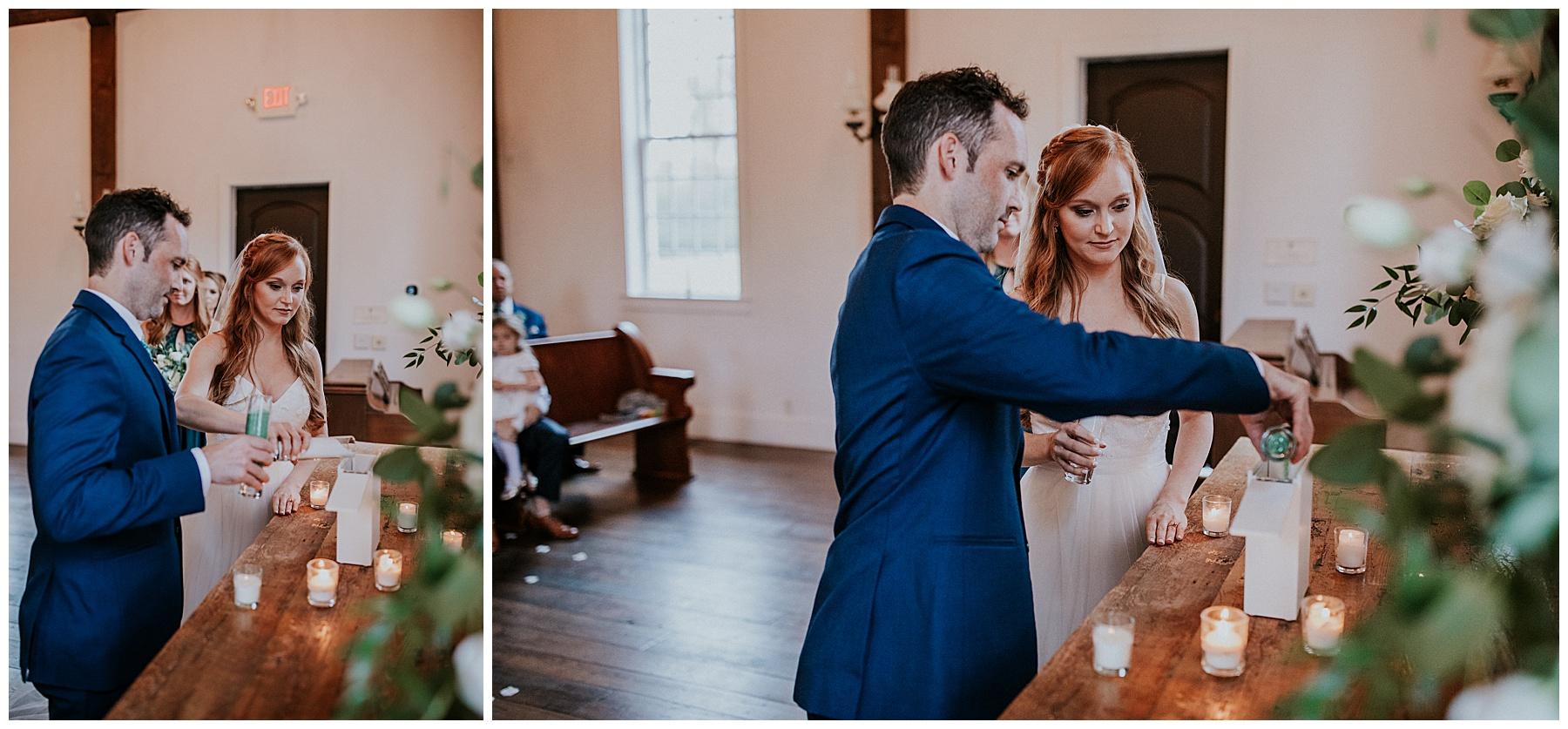 Kings Chapel Wedding Ceremony